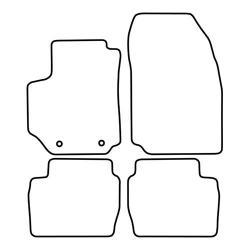 TCP Autospecifieke Pasvorm Automattenset Fiat Croma (002)