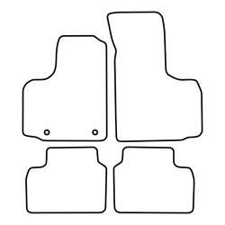 TCP Autospecifieke Pasvorm Automattenset Fiat Doblo (002)