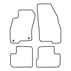 TCP Autospecifieke Pasvorm Automattenset Fiat Grande Punto