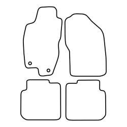 TCP Autospecifieke Pasvorm Automattenset Fiat Marea (001)