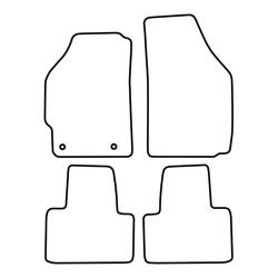 TCP Autospecifieke Pasvorm Automattenset Fiat Punto (003)