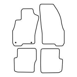 TCP Autospecifieke Pasvorm Automattenset Fiat Punto Evo (003)