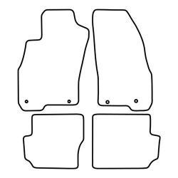TCP Autospecifieke Pasvorm Automattenset Fiat Punto Evo (004)