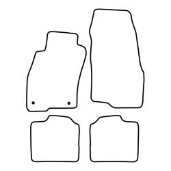 TCP Autospecifieke Pasvorm Automattenset Fiat Punto Evo (005)