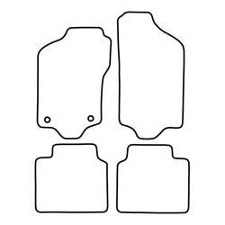 TCP Autospecifieke Pasvorm Automattenset Fiat Tempra