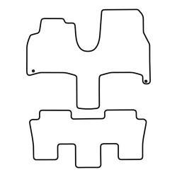 TCP Autospecifieke Pasvorm Automattenset Fiat Ulysse (001)