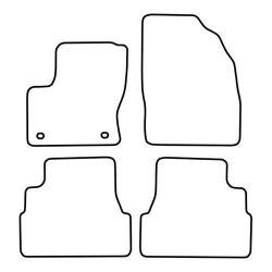TCP Autospecifieke Pasvorm Automattenset Ford C-Max (001)
