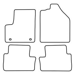 TCP Autospecifieke Pasvorm Automattenset Ford Connect Tourneo