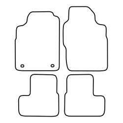TCP Autospecifieke Pasvorm Automattenset Ford Escort (001)