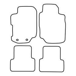 TCP Autospecifieke Pasvorm Automattenset Ford Escort (003)