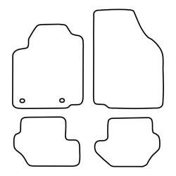 TCP Autospecifieke Pasvorm Automattenset Ford Fiësta (001)