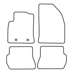 TCP Autospecifieke Pasvorm Automattenset Ford Fiësta (003)