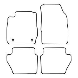 TCP Autospecifieke Pasvorm Automattenset Ford Fiësta (006)