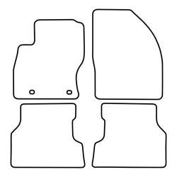 TCP Autospecifieke Pasvorm Automattenset Ford Focus (002)