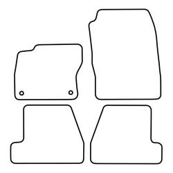 TCP Autospecifieke Pasvorm Automattenset Ford Focus (005)