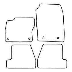TCP Autospecifieke Pasvorm Automattenset Ford Focus (006)