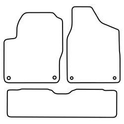 TCP Autospecifieke Pasvorm Automattenset Ford Galaxy (001)