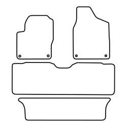 TCP Autospecifieke Pasvorm Automattenset Ford Galaxy (002)