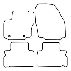 TCP Autospecifieke Pasvorm Automattenset Ford Galaxy (003)