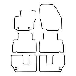 TCP Autospecifieke Pasvorm Automattenset Ford Galaxy (004)