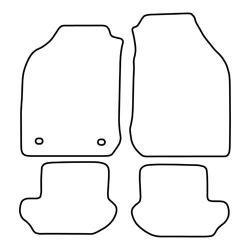 TCP Autospecifieke Pasvorm Automattenset Ford Ka (001)