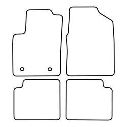 TCP Autospecifieke Pasvorm Automattenset Ford Ka (002)