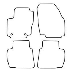 TCP Autospecifieke Pasvorm Automattenset Ford Kuga (002)