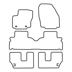 TCP Autospecifieke Pasvorm Automattenset Ford S-Max (002)