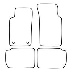 TCP Autospecifieke Pasvorm Automattenset Ford Sierra