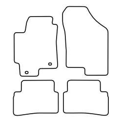 TCP Autospecifieke Pasvorm Automattenset Hyundai Coupé (001)