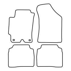 TCP Autospecifieke Pasvorm Automattenset Hyundai Elantra