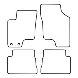 TCP Autospecifieke Pasvorm Automattenset Hyundai Getz