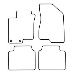 TCP Autospecifieke Pasvorm Automattenset Hyundai Grandeur