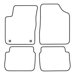 TCP Autospecifieke Pasvorm Automattenset Hyundai i10