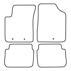 TCP Autospecifieke Pasvorm Automattenset Hyundai i 11