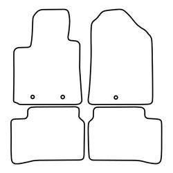 TCP Autospecifieke Pasvorm Automattenset Hyundai i 12