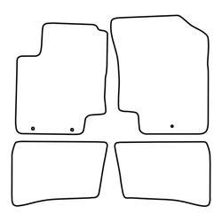 TCP Autospecifieke Pasvorm Automattenset Hyundai i 21