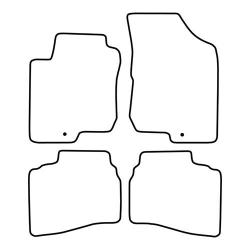 TCP Autospecifieke Pasvorm Automattenset Hyundai i 33