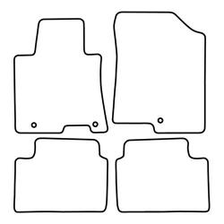 TCP Autospecifieke Pasvorm Automattenset Hyundai i 34