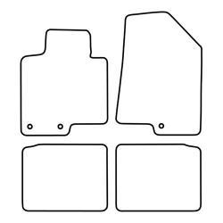 TCP Autospecifieke Pasvorm Automattenset Hyundai i 40