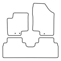 TCP Autospecifieke Pasvorm Automattenset Hyundai ix 20