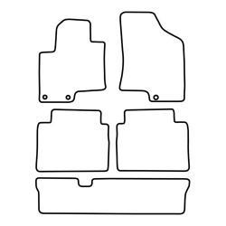 TCP Autospecifieke Pasvorm Automattenset Hyundai ix 55