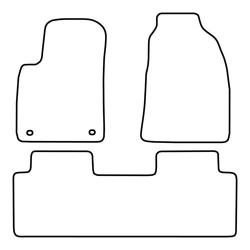 TCP Autospecifieke Pasvorm Automattenset Hyundai Matrix