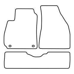 TCP Autospecifieke Pasvorm Automattenset Hyundai Santa Fe (001)