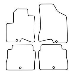 TCP Autospecifieke Pasvorm Automattenset Hyundai Santa Fe (002)