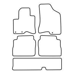 TCP Autospecifieke Pasvorm Automattenset Hyundai Santa Fe (005)