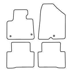 TCP Autospecifieke Pasvorm Automattenset Hyundai Santa Fe (006)