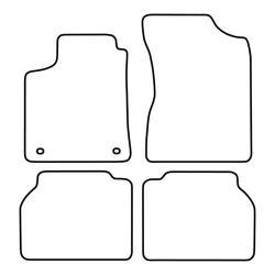 TCP Autospecifieke Pasvorm Automattenset Hyundai Sontata (001)