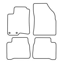 TCP Autospecifieke Pasvorm Automattenset Hyundai Sontata (002)