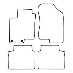 TCP Autospecifieke Pasvorm Automattenset Hyundai Sontata (003)